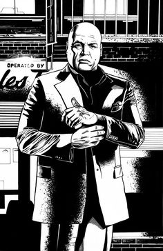 Kingpin from Netflix Daredevil by ContrastCandy