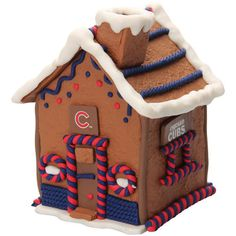 Chicago Cubs Gingerbread House