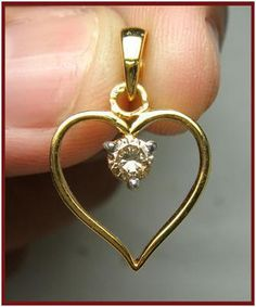 """Colette""...only $800 or P35,200!! Expression of Luv !!! 0.30ctw Diamond Solitaire Pendant! Imported, world-class quality, not pre-owned, not pawned, not stolen. We deliver worldwide <3"