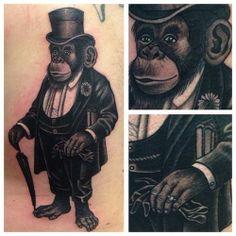 monkey suit up tattoo
