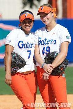 University of Florida - Florida Gators Florida Athletics, Florida Gators Softball, Softball Uniforms, Disney World Outfits, Wwe Female Wrestlers, Florida Girl, Girls Softball, Wwe Womens, University Of Florida
