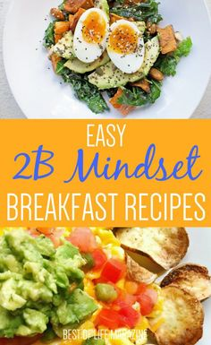 Healthy Recipes These easy Mindset breakfast recipes are the perfect way to start your day of healthy living. Raw Food Recipes, Gourmet Recipes, Dinner Recipes, Healthy Recipes, Meal Recipes, Healthy Breakfast Recipes For Weight Loss, Dinner Ideas, Healthy Breakfasts, Paleo Breakfast