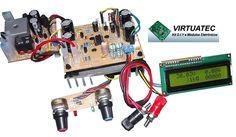 Fonte ajustável 30V por 5A com Display LCD - Grátis módulo OCP.