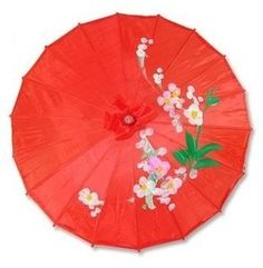 Asian Japanese Chinese Umbrella Parasol