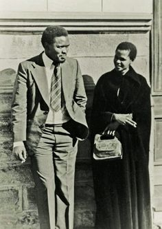 SAHA - South African History Archive - Joshua Nkomo with Alfred . Steve Biko, Apartheid, African History, Love Is Sweet, Black History, Memories, Consciousness, South Africa, People
