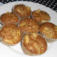 Almás-zabpelyhes muffin Recept képpel - Mindmegette.hu - Receptek