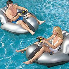 Motorized Bumper Floats