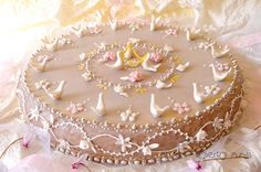 My Art - Roberto Murgia: novembre 2011 Art Deco Cake, Cake Art, Unique Cakes, Elegant Cakes, Cupcakes, Cake Cookies, Italian Cooking, Italian Recipes, Bread Art