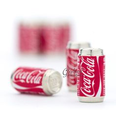 10pc/Set  Dollhouse Miniatures Coca Cola Soda by GlobalMiniatures