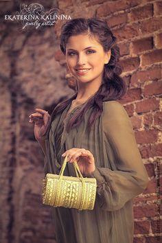 4cec11564e7 Купить или заказать сумочка  ЦВЕТОК СОЛНЦА  в интернет-магазине на Ярмарке  Мастеров. сумочка выполнена из натуральной итальянской кожи