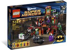 LEGO DC Universe Super Heroes The Dynamic Duo Funhouse Escape 6857 for sale online Lego Batman, Lego Marvel, Batman Party, Batman Arkham, Seokjin, Harley Quinn, Lego Dc Comics, Marvel Comics, Shopping