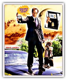 Just found this deep in my 'vault' of creations. William as The Accountant in Drive Angry. Be sure and click :-)