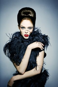 Coco Rocha is very active on social networks. Description from fashion-models.org. I searched for this on bing.com/images
