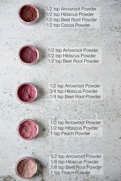 DIY Blush Makeup Recipes