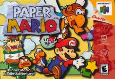 Paper Mario. It's not the Mario rpg we wanted, but we definitely deserved it. It's great and you should pick it up if you have the chance, and can afford it.