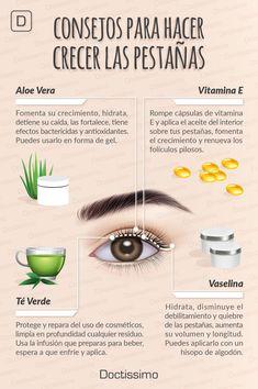 Makeup Artist ^^ | Consejos para que tus pestañas crezcan, más consejos aquí...    #pestañas #consejosdebelleza #belleza  https://pinterest.com/makeupartist4ever/