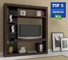 TIP 5 para Disfrutar el Mundial  Si en tu casa no es posible colgar la televisión en la pared, una buena opción es utilizar un TV Chest o un Centro de Entretenimiento.