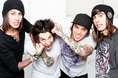 Pierce the Veil.<3<3<3