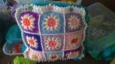 Lindos cojines a crochet