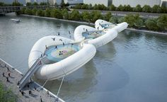 Paris Trampoline Bridge (http://blog.hgtv.com/design/2012/11/07/daily-delight-paris-trampoline-bridge/?soc=pinterest)