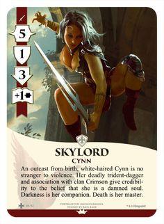 Warrior card design