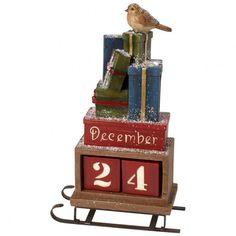 Christmas Toys 2017 Schlitten mit Datum 20,5x9,5x35cm - Villeroy & Boch