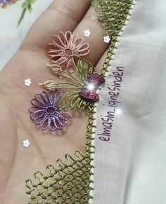 Fashion and Lifestyle Spring Tutorial, Needle Lace, Tatting, Needlework, Diy And Crafts, Sewing, Handmade, Instagram, Jewelry