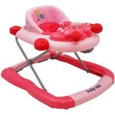 Baby mix Chodítko dětské růžové, 6m+