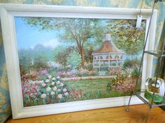 Artwork, Garden Gazebo $29.00. - Consign It! Consignment Furniture