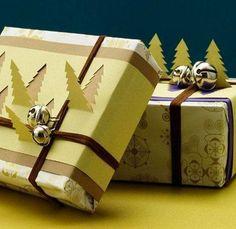 Envolver los regalos de Reyes con paquetes en 3D