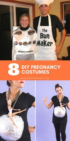 Halloween Costumes to Rock That Baby Bump with Some DIY - BabyPrepping Halloween Pregnancy Shirt, Halloween Pregnancy Announcement, Pregnancy Costumes, Pregnant Halloween Costumes, Pregnancy Shirts, Baby Halloween, Diy Costumes, Maternity Costumes, Maternity Halloween