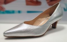 Baby Heels en tono metalizado