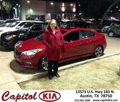 #HappyAnniversary to Catherine Martin on your 2014 #Kia #Forte from Robert Bills at Capitol Kia!