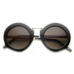 - Description - Measurements - Shipping - Chic oversized metal frame that features a beautiful two-toned . A uniquely oversized round full metal frame and fun color lenses offer a fashionable look thi