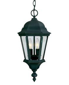 Two Light Hanging Lantern