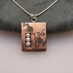 necklaces 2 - Lisa Williams Jewelry. Cherry blossoms necklace...pinned by ♥ wootandhammy.com, thoughtful jewelry.