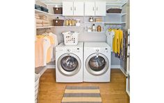 Keep your laundry room tidy all year long with freedomRail!