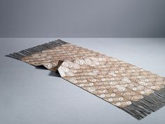 Wooden Textiles : Beautiful Innovation by Designer Elisa Strozyk - this is a throw!!