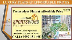 Luxury Apartments at Gaur Sports Wood Sector 79 Noida