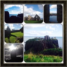 Donnottar Castle in Schottland