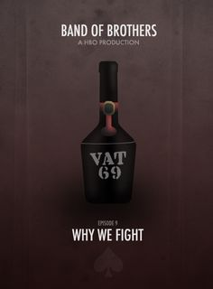 BAND OF BROTHERS MINIMALIST POSTERS † Episode 9 - Why We Fight.