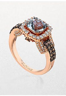 Le Vian® Aquamarine and Diamond Ring...ugh too bad its $2,805...and its on sale