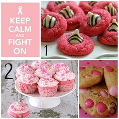 Pink Delicious Treats for Breast Cancer Awareness month!