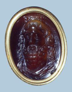 Head of Serapis  Ancient Rome, 1st century