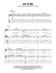 All Of Me Guitar Tab von John Legend - Hobbys - Guitar Tabs Songs, Acoustic Guitar Chords, Guitar Strumming, Music Tabs, Guitar Chords For Songs, Guitar Sheet Music, Guitar Solo, Guitar Lessons, Music Music