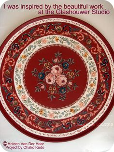 The Glashouwer Studio Style / Large Round Plate 20inch