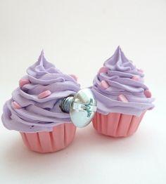 We Love these for a little girls dresser or a bakery. -VintageandKind.com