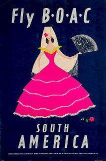 Vintage BOAC - South America