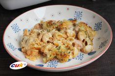 Receta de Macarrones con queso y Pollo CUK Buffalo