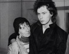 Sid Vicious and his mum